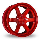 Bola B1 Candy Red Alloy Wheels