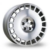 Bola B12 Silver Polished Face Alloy Wheels