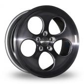 Bola B5 Black Alloy Wheels