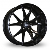 Bola B6 Gloss Black Alloy Wheels