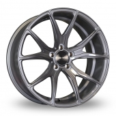 Bola B6 Glossy Titanium Alloy Wheels