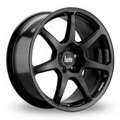 Bola B7 Gloss Black Alloy Wheels
