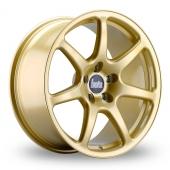 Bola B7 Gold Alloy Wheels