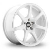 Bola B7 White Alloy Wheels