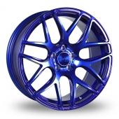 Bola B8R Candy Blue Alloy Wheels