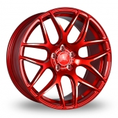 Bola B8R Candy Red Alloy Wheels