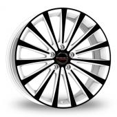 Borbet BLX White Black Alloy Wheels
