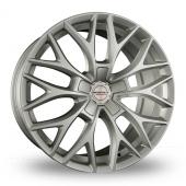 Borbet DY Silver Alloy Wheels