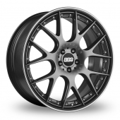 BBS CH-R II Anthracite Alloy Wheels