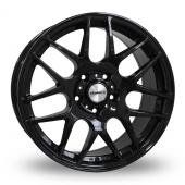 Calibre Exile Gloss Black Alloy Wheels