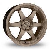 Calibre GTR Matt Bronze Alloy Wheels
