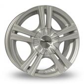 Calibre Metro Silver Alloy Wheels