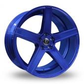 Diewe Cavo Blue Alloy Wheels