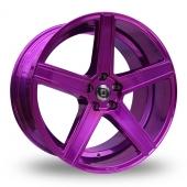 Diewe Cavo Purple Alloy Wheels