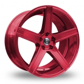 Diewe Cavo Red Alloy Wheels