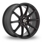 Konig Control Matt Black Alloy Wheels