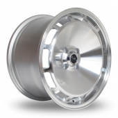 Rota D154 Silver Polished Face Alloy Wheels