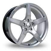 Image for Riva DBZ Hyper_Silver Alloy Wheels