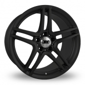 DRC DMG 5x112 Wider Rear Matt Black Alloy Wheels