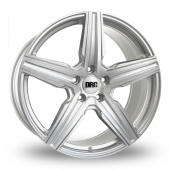 DRC DMV Silver Polished Face Alloy Wheels