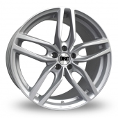 DRC DRS Silver Alloy Wheels