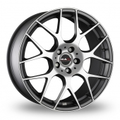 MAK DTM One Anthracite Polished Alloy Wheels