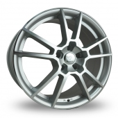 Diamond E109 Silver Polished Face Alloy Wheels
