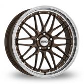 Dotz Revvo Bronze Polished Alloy Wheels