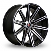 Image for Axe EX15_5x112_Wider_Rear Black_Polished Alloy Wheels