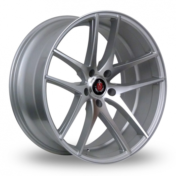 Zoom Axe EX19_Wider_Rear Silver_Polished Alloys