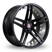 Image for Axe EX20_5x120_Low_Wider_Rear Matt_Black Alloy Wheels
