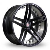 Image for Axe EX20_5x120_Low_Wider_Rear Matt_Black Alloy Wheels