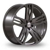 Axe EX22 Grey Alloy Wheels