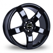 Image for Riva FWD Black Alloy Wheels