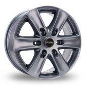 Fox Racing Viper Van 2 Grey Alloy Wheels
