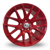 Zito ZL935 Red Alloy Wheels