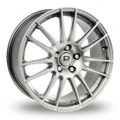 Pro Drive GT1 Hi Power Silver Alloy Wheels