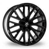 Wolf Design Wolf Design GTP Black Alloy Wheels