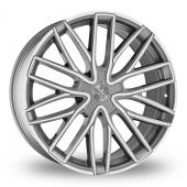 Wolf Design Wolf Design GTP Gun Metal Polished Alloy Wheels