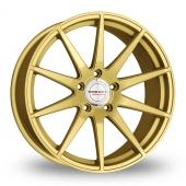 Borbet GTX Gold Alloy Wheels