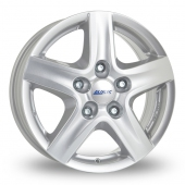 Alutec Grip (Transporter) Silver Alloy Wheels