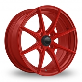 Konig Helium Red Alloy Wheels