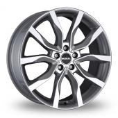 MAK Highlands Silver Alloy Wheels