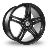 AC Wheels Hockenheim Matt Black Alloy Wheels