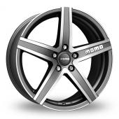 Image for Momo Hyperstar_Evo Anthracite_Polished Alloy Wheels