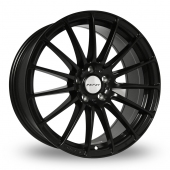 Inovit Force 5 Satin Black Alloy Wheels
