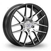 Inovit Velocity Black Polished Alloy Wheels