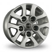 Borbet LD Silver Alloy Wheels