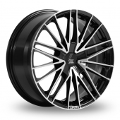 Lenso ESD Black Polished Alloy Wheels