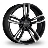 MAK Luft Ice Black Alloy Wheels